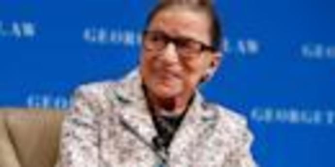 Justice Ruth Bader Ginsburg hits back at Trump\