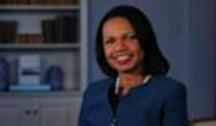 Condoleezza Rice Calls Giuliani\