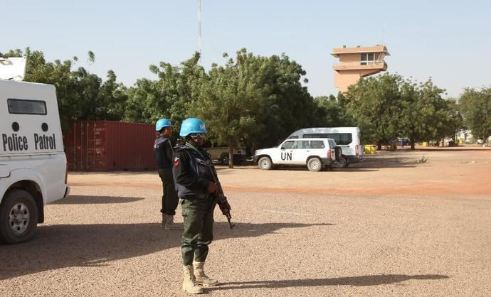 The United Nations has nearly 13,000 troops and police in Mali