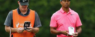 Fan sues Tiger Woods and caddie, claiming push from 2018 Valspar