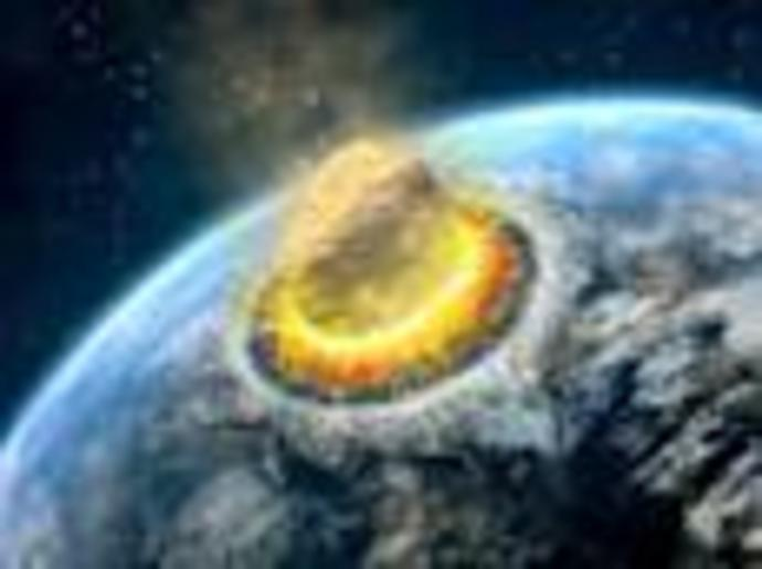 One of the biggest meteorite crashes in Earth\