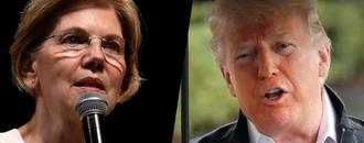 Donald Trump Denies Making Charity Pledge Tied To Elizabeth Warren DNA Test
