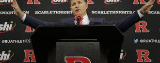 Passionate Schiano takes over Rutgers football for 2nd time