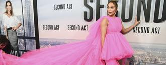 Jennifer Lopez Brings the Drama in Giambattista Valli Haute Couture at Latest Film Premiere