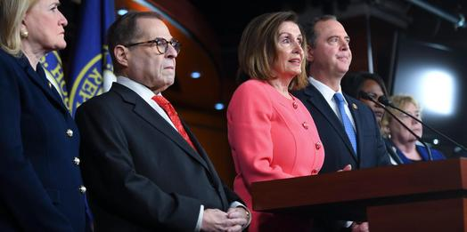 House Democrats call Trump a
