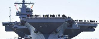 The U.S. Navy Let Me Come Aboard Their Deadliest Aircraft Carrier Ever