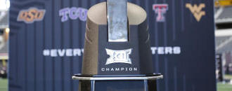 The Latest: Baylor seeks next Big 12 step climbing to 7 wins