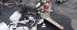 Fuel in fatal B-17 crash wasn