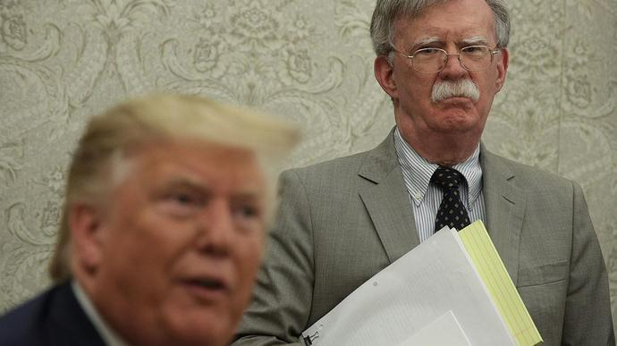 Trump Suspects a Spiteful John Bolton Is Behind Some of the Ukraine Leaks