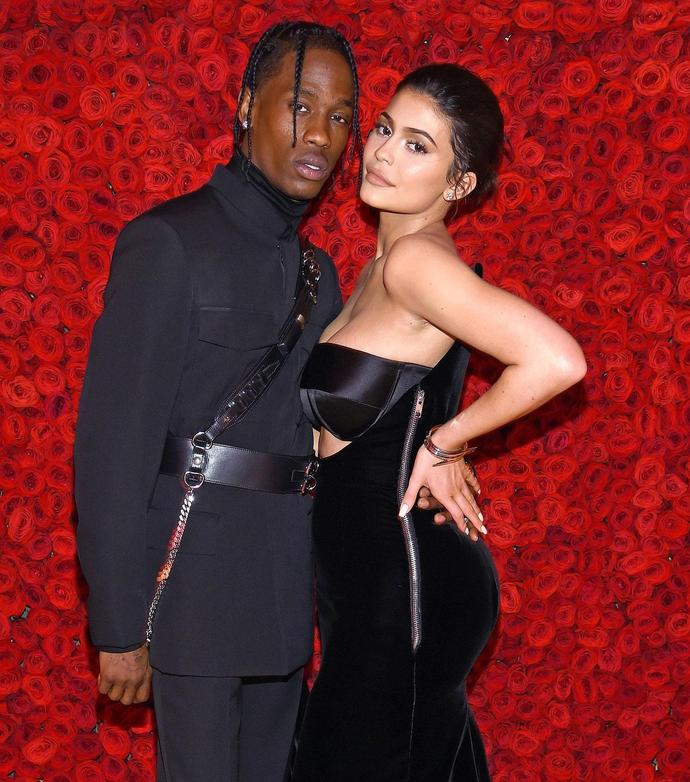 0d55f44c84f6 Travis Scott Tells 'Wifey' Kylie Jenner 'Love You' During Concert After  Denying Cheating Rumors