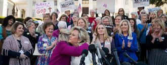 They Came To Clear Roy Moore's Character. They Talked About Guns And Abortion.