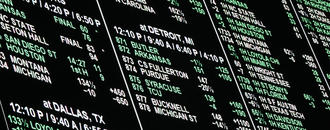 Sportsbooks are dark and odds are long in Las Vegas