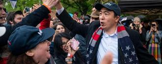 Andrew Yang faces backlash from the Asian American community over op-ed