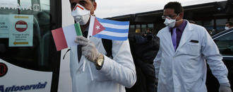 Cuban docs fighting coronavirus around world, defying US