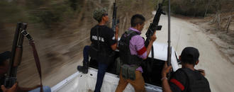 Mexico struggles: whether to talk to vigilantes or jail them
