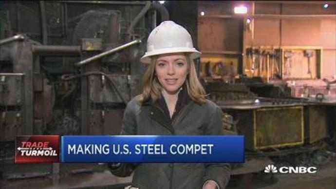 Steel producer says tariff not about Trump, it's about bu
