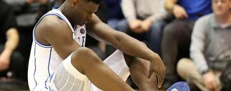 LeBron sends best wishes to top NBA prospect Zion Williamson after injury