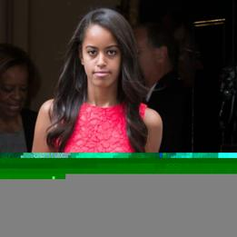 Malia Obama Discovers That Life Outside the White House Isn