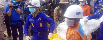 Cambodia charges 4 Chinese after building collapse killed 28