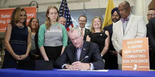 Murphy signs bill aimed at making smart guns available