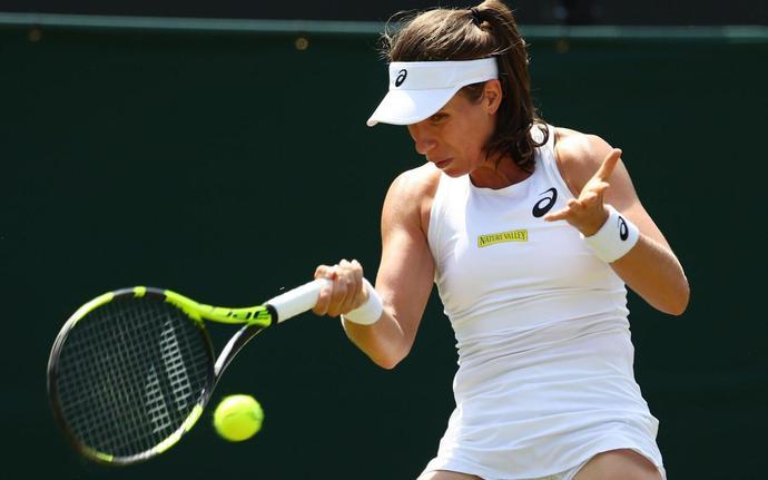 Johanna Konta vs Natalia Vikhlyantseva, Wimbledon 2018: live