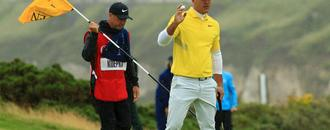 Koepka vents frustration at slow play after Holmes watch gesture