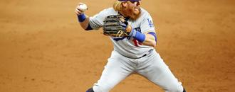 Report: Justin Turner pulled during World Series game after positive coronavirus test