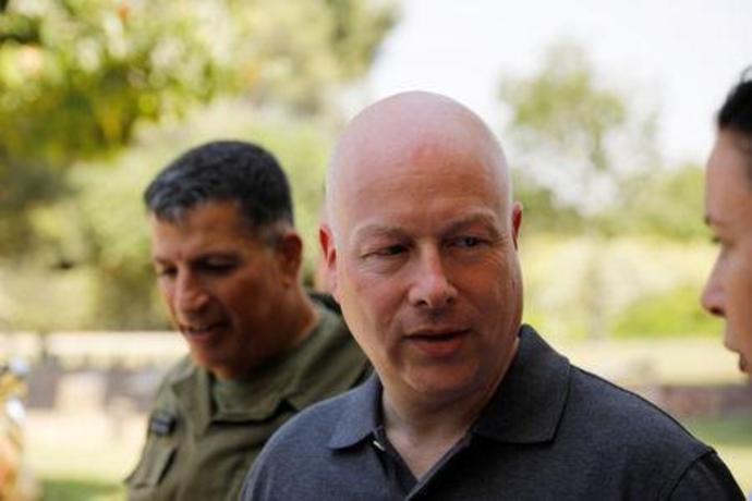 FILE PHOTO: Jason Greenblatt, U.S. President Trump