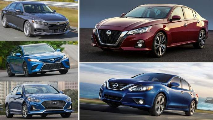 2019 nissan altima vs honda accord vs toyota camry how they compare. Black Bedroom Furniture Sets. Home Design Ideas