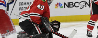 Lehner excited about trade from Blackhawks to Golden Knights