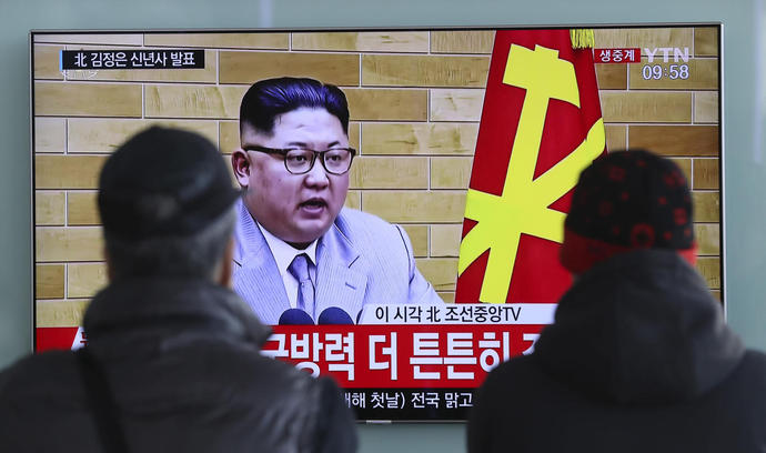 Kim says US should know North Korean nuclear force a reality