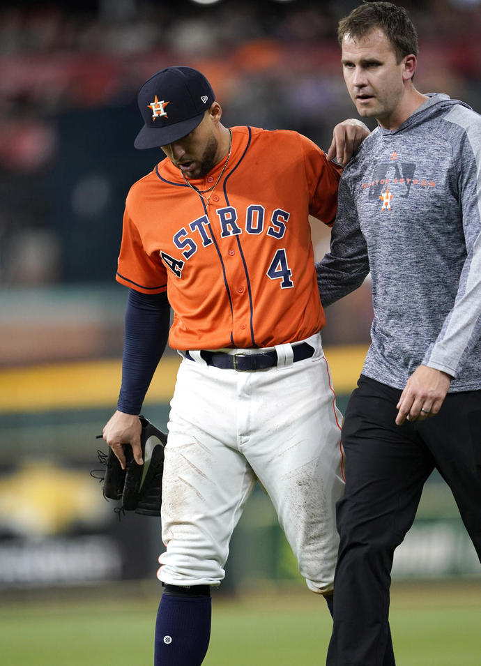 Springer placed on 10-day IL with left hamstring injury