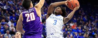 Evansville stuns No. 1 Kentucky