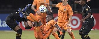LAFC rallies to tie Houston Dynamo in MLS Is Back tournament