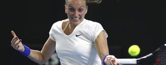 Kvitova beats Brady 6-4, 6-3 on return to Stuttgart