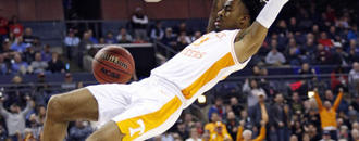 Tennessee holds off Colgate to advance to NCAA second round