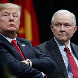 Trump claims Jeff Sessions not