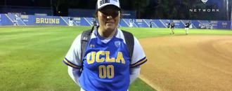 UCLA softball pitcher Rachel Garcia on team