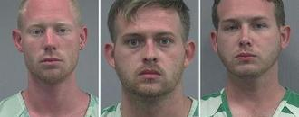 Three charged in shooting after white nationalist