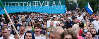 Anti-Kremlin protests continue in Russia