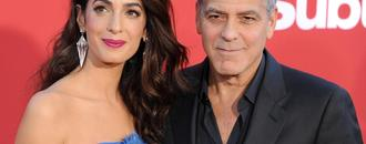George And Amal Clooney Pass Out Headphones On Flight To Block Twins