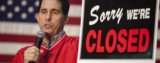 Scott Walker Signs Wisconsin GOP's Massive Power Grab Into Law