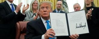 Trump signs directive in move to create a U.S. Space Force