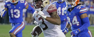 Florida State RB Akers to enter draft, won