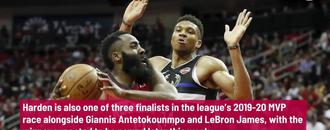 Rockets star James Harden named to 2019-20 All-NBA First Team