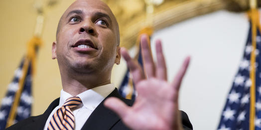 Cory Booker Calls On Donald Trump To Resign Over Sexual Misconduct Allegations