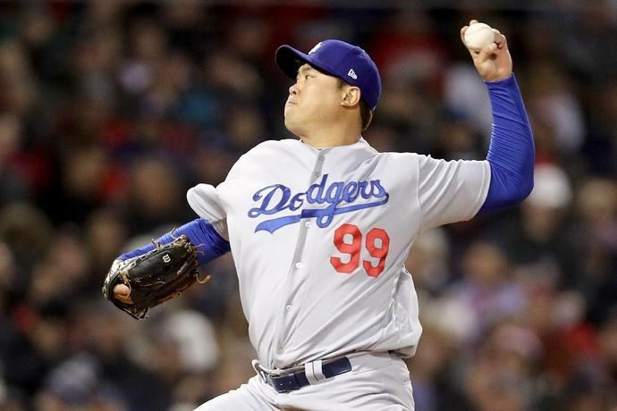 South Korean left-handed pitcher Ryu Hyun-jin was named Friday as the starter for the Los Angeles Dodgers season opener next Thursday against Arizona