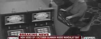 Hotel video shows Vegas gunman