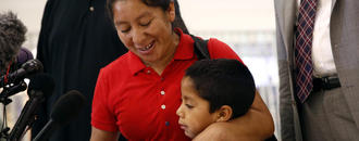 This Guatemalan Mother Sued the U.S. for Separating Her From Her Son at the Border. Now, They Are Reunited