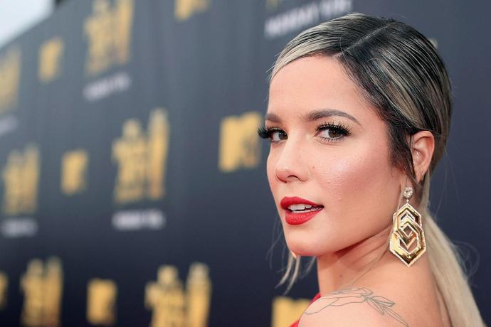 bedd9f5dc Halsey Reveals New Face Tattoo on Instagram